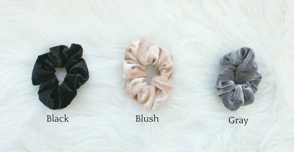 Velvet Hair Scrunchies