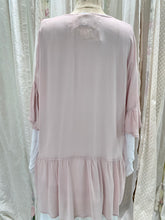 Load image into Gallery viewer, Pink viscose rose top
