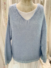 Load image into Gallery viewer, Mohair blue jumper