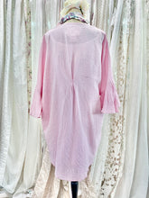 Load image into Gallery viewer, Pink linen kimono