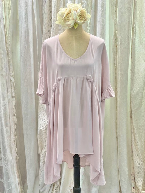 Blush rose dress
