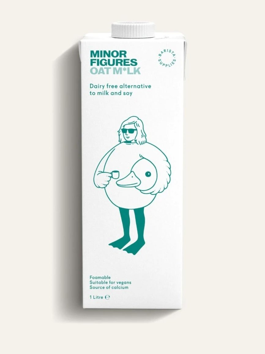 Minor Figures Oat Milk Case of 6