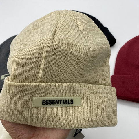 Knitted Baseball Cap or Beanie FOG