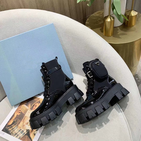 PRADA Motorcycle Boots Women