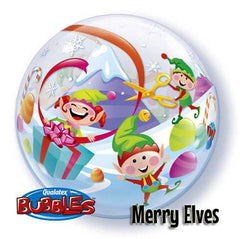 "Christmas 22"" Bubble Balloons"