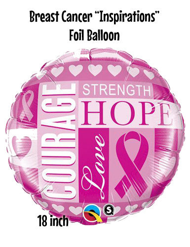 "18-inch ""Inspirations"" Foil Balloon"
