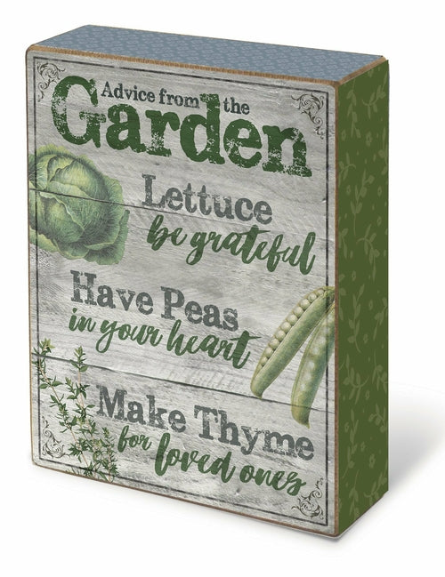 In the Garden: Blox-Advice from the Garden