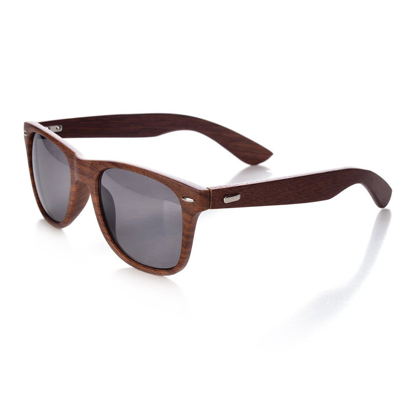 Wood Wayfarers Sunglasses with Bamboo Case
