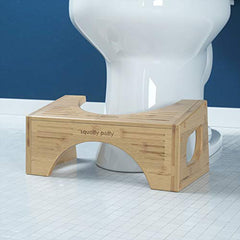 Squatty Potty The Original Toilet Stool - Bamboo Flip, 7