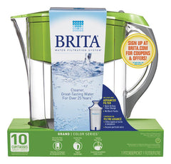 Brita  10 - 8  Green  Grand Pitcher
