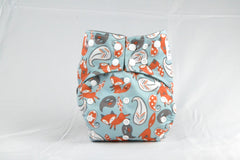 Earthlie Cloth Diaper - Foxes