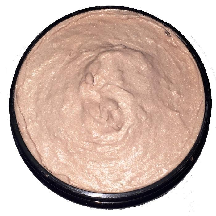 Organic Shimmering Whipped Body Butter