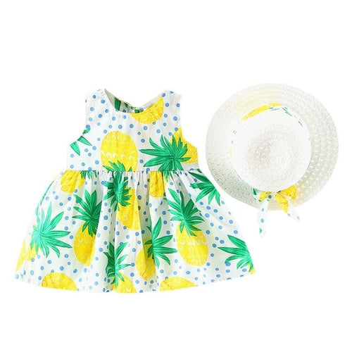 Kawaii Toddler Baby Kids Girls Summer Fruit