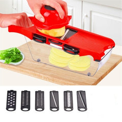 Mandoline Slicer Vegetable Cutter with Stainless Steel Blade Manual