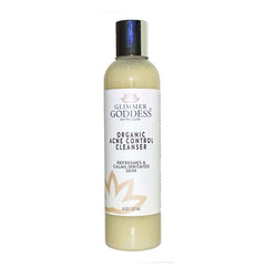 Organic Creamy Acne Control Cleanser - Great For Face & Body