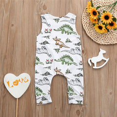 Newborn Infant Baby Boys Girls rompers Summer