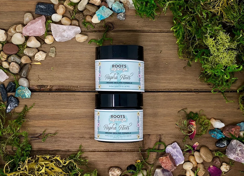 Rapha Roots Herbal Wound Healing Salve