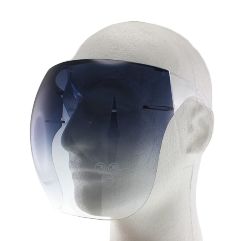 MQ Full Face Shield - Midnight Blue Gradient