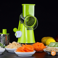Vegetable Cutter Round Mandoline Slicer Potato Julienne Carrot Grater
