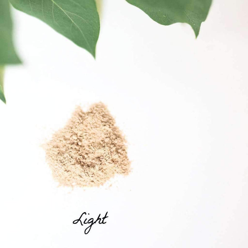 Organic Face Powder | Light