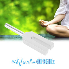 4096Hz Energy Tuning Fork Crystal Aluminum Alloy Healing Sound Vibration Therapy