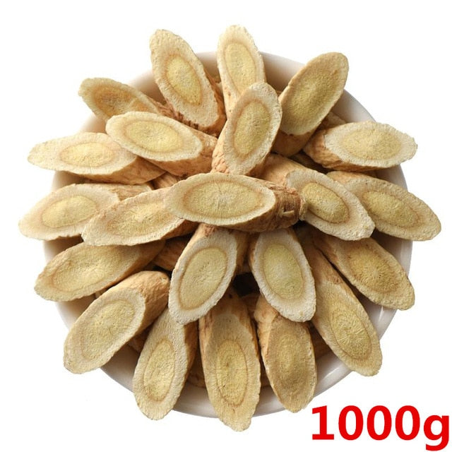 Organic Wild Astragalus Root Radix Astragali Huangqi Dried Slices  Healthy Tea
