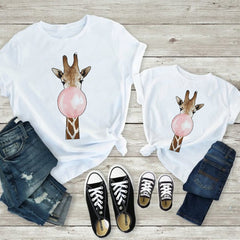 Family Look Outfits T-shirt Baby Boy Clothes Tshirt Mama and Daughter Clothes Father and Son Clothes T shirt Funny Beautiful