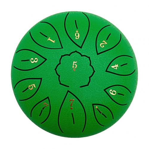 6 Inch 11 Tone C Key Buddhist Chanting Sound Healing Meditation Singing Drum Buddhist Chanting Sound Healing Meditation  Drum