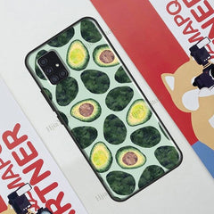 Vegan Vegetables Veggies Case For Samsung Galaxy A71 A51 A31 A21S A20e A11 M21 M31 A10 A30 S A40 A50 A70 Cover