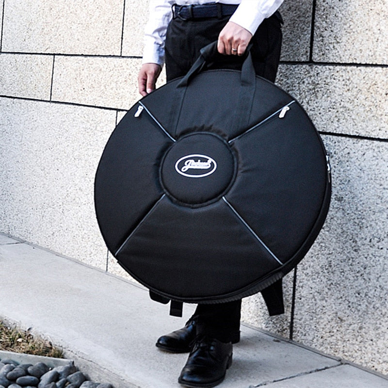 Professional protable durable Hand dish Hang Drum bag thicker steel tongue hang drum HandPan backpack Handdrum cover case pack