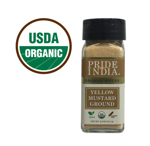 Organic Yellow Mustard Seed Ground