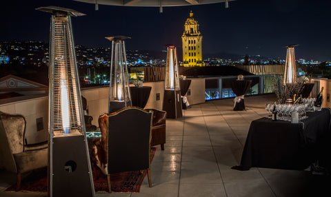 rooftop event beverly hills