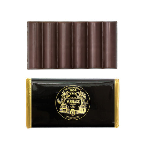 Mariage Frères - CHOCOLATE BAR - Dark chocolate with nougatine