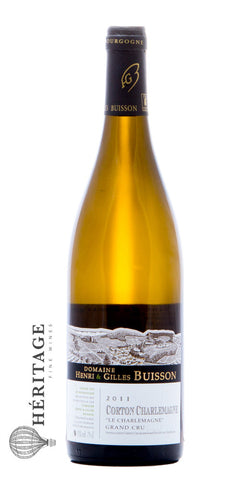 "Domaine Henri & Gilles Buisson - Corton-Charlemagne, ""Le Charlemagne"" Grand Cru - 2011"