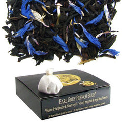 Mariage Frères - EARL GREY FRENCH BLUE - cotton muslin tea-sachets - Tea Beverly Hills