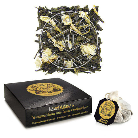 JASMIN MANDARIN™ Sweet green tea with jasmine blossoms (bags)