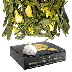 Mariage Frères - YUZU TEMPLE® - cotton muslin tea-sachets - Buy Wine Beverly Hills