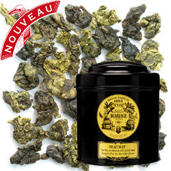 Mariage Frères - MILKY BLUE - Seductive Blue Tea rich milky flavor - Iconic black tea metal box