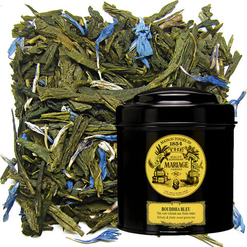 Mariage Frères - BOUDDHA BLEU® Velvety green tea ripe fruits fragrance & blue flowers