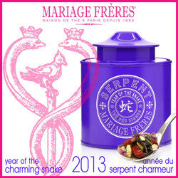 Mariage Frères - THÉ DES SIGNES® - SERPENT - Green tea with goji berries