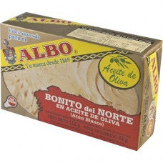 Albo, White Tuna (Atlantic Bonito) in Olive Oil, 112gr
