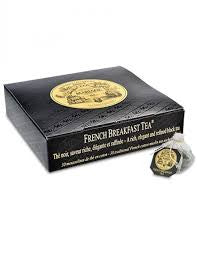 Mariage Frères - FRENCH BREAKFAST TEA® - Black tea - Cotton Muslin tea-sachets
