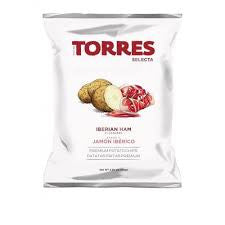Torres Iberian ham potato chips