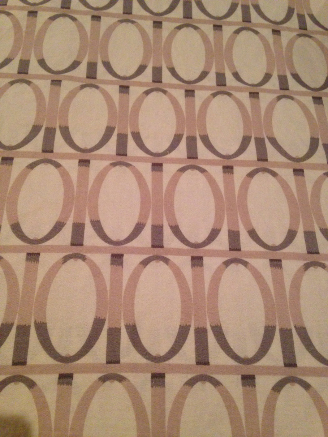 Farmington Fabric / Martha Negley / Westminster Fabrics -1 7/8 Yards- Cotton Fabric / Quilting Fabric / Garden Gate / Purple and White