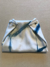 Load image into Gallery viewer, Hand Made Shibori & Indigo Dyed Cloth Diaper / 100% Cotton / Made in USA / Small batch Diaper Cover