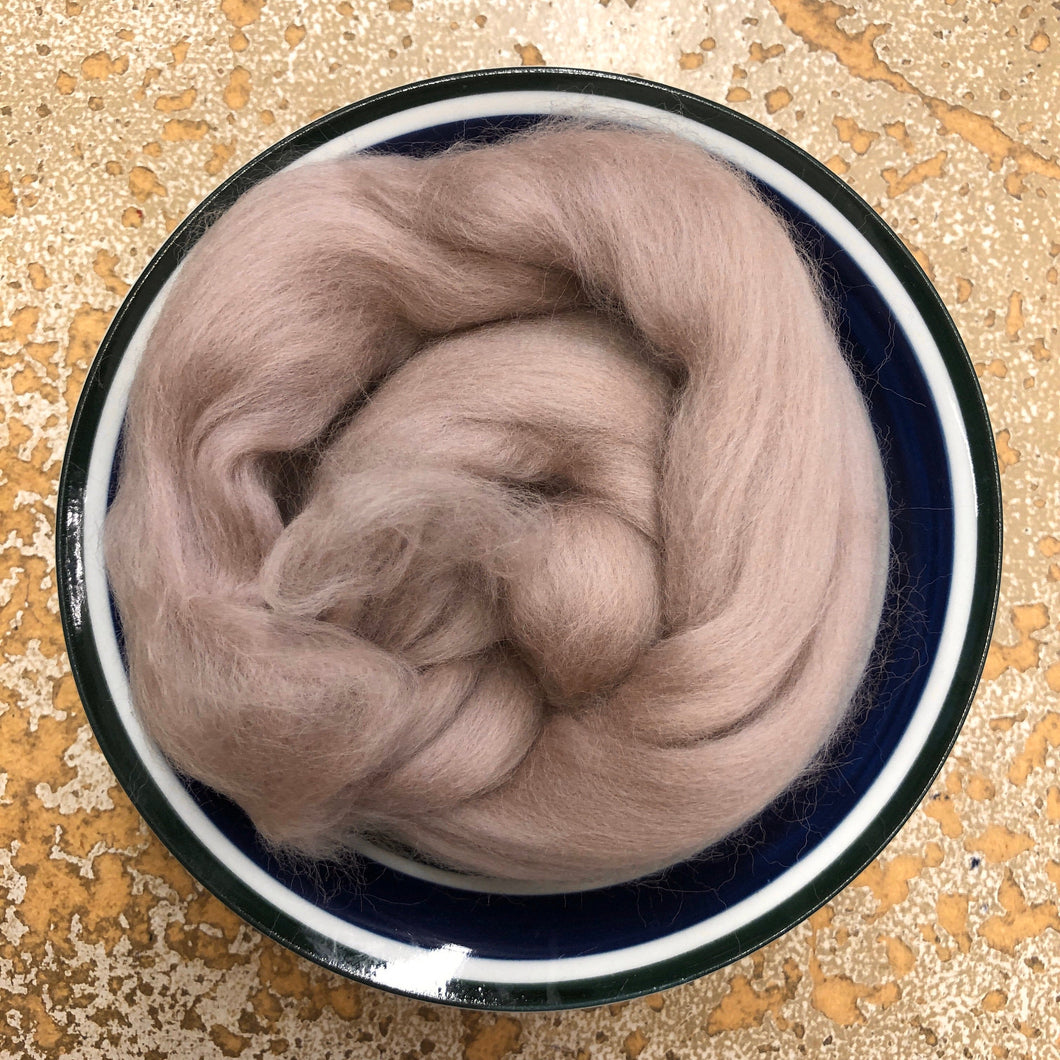 Cabbage Rose Merino Wool Roving for Felting, Spinning or Weaving - 1 oz - Nuno, Wet or Needle Felting Fibers