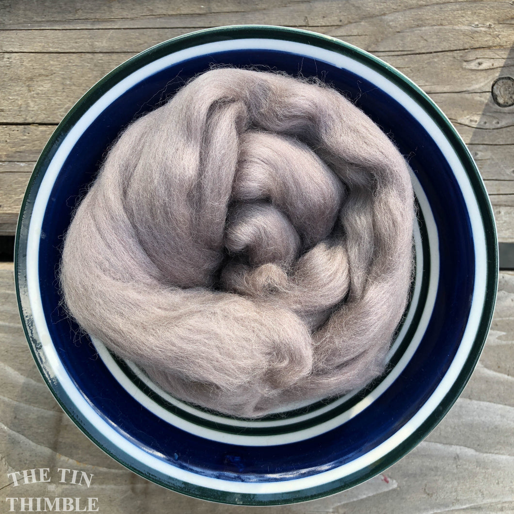 Foothills Merino Wool Roving - 21.5 micron -1 oz - For Nuno Felting, Wet Felting, Weaving, Spinning and More