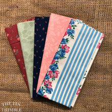Load image into Gallery viewer, Fat Quarter Bundle / Pink & Blue Fabric / Fat Quarters / Quilting Fabric / Fat 1/4 / Great for Making Masks! / 100% Cotton