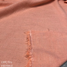Load image into Gallery viewer, Rayon/Linen Blend Yardage in Peach - Speckled Rayon by Yard