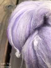 Load image into Gallery viewer, Hand Carded Batt for Felting or Spinning - Blend of Merino, Silk & Other Fibers - Hand Dyed and Commercially Dyed Fibers